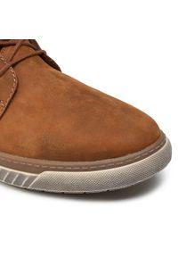 Rieker - Trzewiki RIEKER - 37930-26A Brązowy. Kolor: brązowy. Materiał: skóra, nubuk