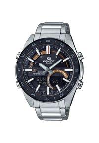 Czarny zegarek Casio cyfrowy, elegancki