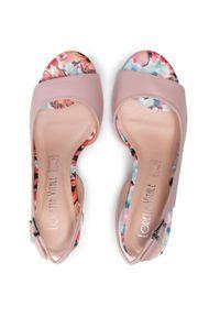 Różowe sandały Loretta Vitale