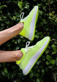 Renee - Zielone Buty Sportowe Encourage. Kolor: zielony