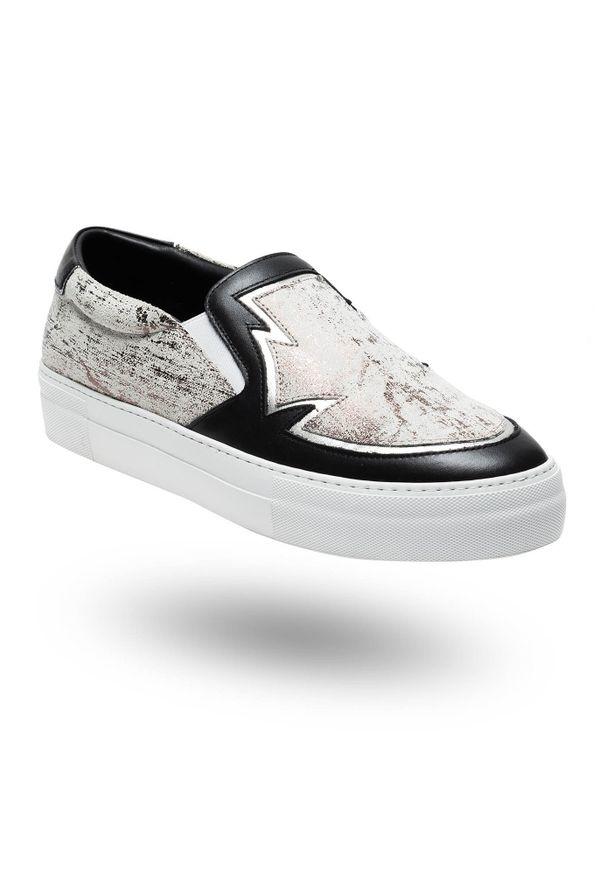 Sneakersy Just Cavalli bez zapięcia