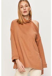 Bluza Answear Lab z długim rękawem, wakacyjna, bez kaptura, długa