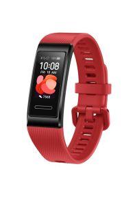 Czerwony zegarek HUAWEI cyfrowy #4