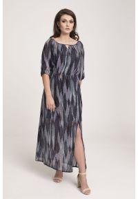 Sukienka Vito Vergelis na co dzień, w kolorowe wzory