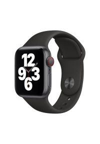 Czarny zegarek APPLE sportowy, smartwatch