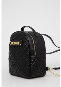 Love Moschino - Plecak. Kolor: czarny. Wzór: aplikacja #3