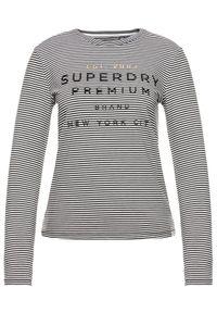 Czarna bluzka Superdry