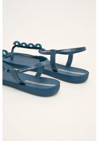 Ipanema - Sandały. Kolor: niebieski. Materiał: guma