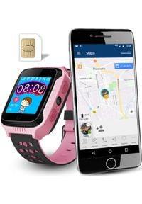 Smartwatch CALMEAN Go Różowy. Rodzaj zegarka: smartwatch. Kolor: różowy