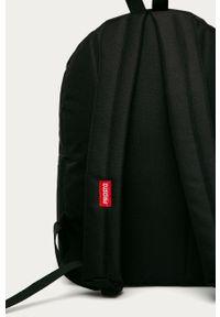 Czarny plecak Prosto. z nadrukiem