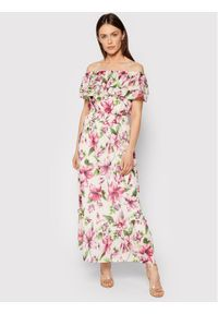 Liu Jo Sukienka letnia WA1496 T5976 Kolorowy Regular Fit. Wzór: kolorowy. Sezon: lato