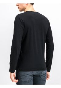 Czarna koszulka z długim rękawem Pepe Jeans