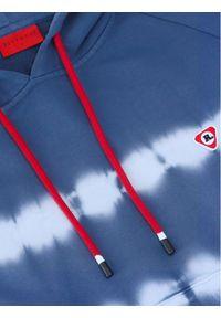 Vistula Bluza Jamal Blue RX1017 Niebieski Regular Fit. Kolor: niebieski