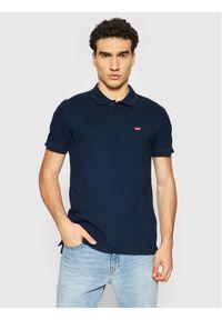 Levi's® Polo Standard Housemarked 35883-0005 Granatowy Regular Fit. Typ kołnierza: polo. Kolor: niebieski
