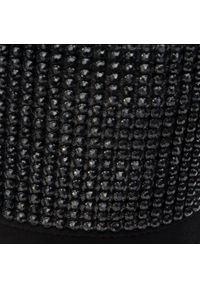 Baldowski - Botki BALDOWSKI - D02737-1451-002 Zamsz Czarny. Kolor: czarny. Materiał: skóra, zamsz. Szerokość cholewki: normalna. Wzór: aplikacja. Obcas: na obcasie. Wysokość obcasa: średni