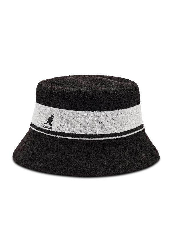 Kangol - Kapelusz KANGOL - Bermuda Stripe Bucket K3326ST Black BK001. Kolor: czarny. Materiał: materiał, poliester, nylon, akryl