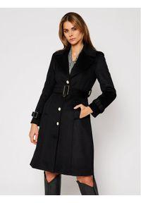 Czarny płaszcz zimowy Marciano Guess
