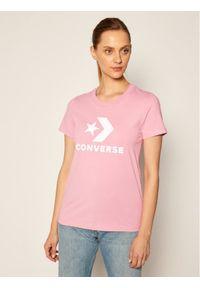 Różowy t-shirt Converse