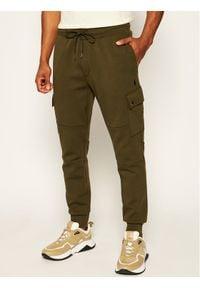 Polo Ralph Lauren Spodnie dresowe Classics 710730495006 Zielony Regular Fit. Kolor: zielony. Materiał: dresówka