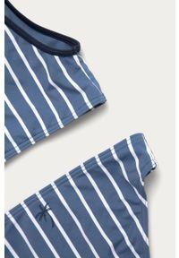 Niebieski strój dwuczęściowy Roxy z odpinanymi ramiączkami