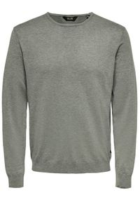 Only & Sons - ONLY & SONS Sweter Wyler 22020088 Szary Regular Fit. Kolor: szary