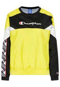 Champion Bluza 112773 Żółty Custom Fit. Kolor: żółty