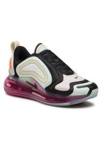 Czarne buty sportowe Nike Nike Air Max, na co dzień, z cholewką