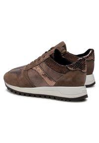 Geox Sneakersy D Tabelya A A D04AQA 0Y222 C5005 Brązowy. Kolor: brązowy