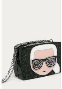 Czarna kopertówka Karl Lagerfeld klasyczna