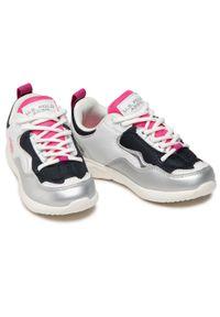 U.S. Polo Assn - Sneakersy U.S. POLO ASSN. - Carly CARL4152S1/YM1 Whi/Sil. Okazja: na co dzień. Kolor: biały. Materiał: skóra ekologiczna, materiał. Styl: casual