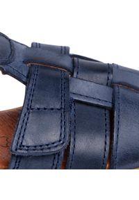 Niebieskie sandały Bundgaard na lato, klasyczne #6