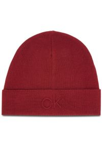 Czerwona czapka Calvin Klein