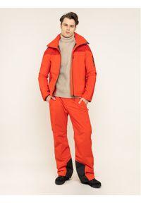 Czerwone spodnie sportowe Peak Performance narciarskie #7
