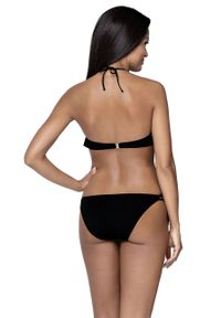 Czarny strój kąpielowy dwuczęściowy Lorin