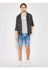 Baldessarini T-Shirt Terenzo 47399/000/5357 Szary Modern Fit. Kolor: szary