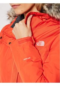 Pomarańczowa kurtka zimowa The North Face