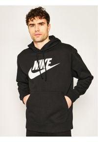 Nike Bluza Club Hoodie BV2973 Czarny Standard Fit. Kolor: czarny