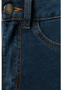 Niebieskie jeansy Vila gładkie