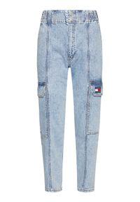 Tommy Jeans Jeansy Cargo Jean DW0DW09882 Niebieski Relaxed Fit. Kolor: niebieski