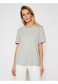 Szary t-shirt Victoria Victoria Beckham