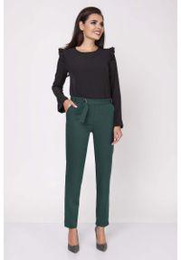 Zielone spodnie Nommo eleganckie