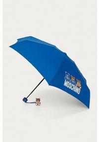 MOSCHINO - Moschino - Parasol. Kolor: niebieski