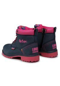 Niebieskie buty zimowe Lee Cooper na spacer