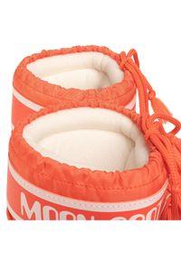 Pomarańczowe śniegowce Moon Boot