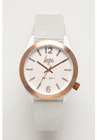 Biały zegarek Hype