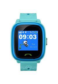 Niebieski zegarek CANYON smartwatch
