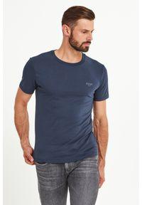 T-shirt JOOP! Jeans w kolorowe wzory, elegancki