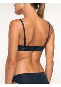Niebieski biustonosz bezszwowy Emporio Armani Underwear