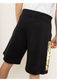 Czarne spodenki sportowe Versace Jeans Couture #6