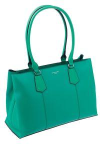 Zielona torebka DAVID JONES klasyczna, przez ramię